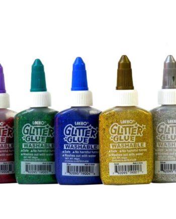 Glitter Glue Leeho doxeio 40grm 1tem tetragono1