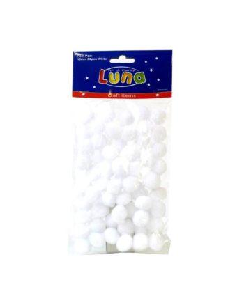 Pon Pon Luna leuka 15mm 60tem tetragono2