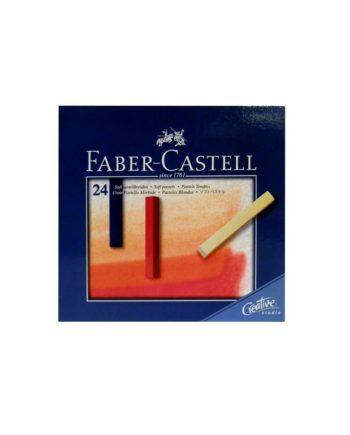 Soft pastel Faber Castell Studio Quality 24 xrom 12 83 24 tetragono