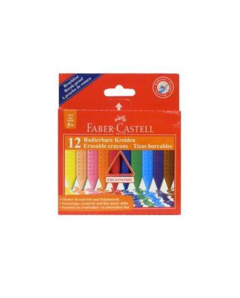 kirobogies leptes pou svinoun Faber Castell 12 xrom 12 25 20 tetragono