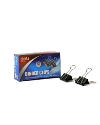 piastra binder clips mauri deli 25mm 1tem tetragono