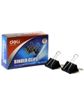 piastra binder clips mauri deli 41mm 1tem tetragono