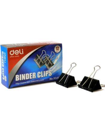 piastra binder clips mauri deli 51mm 1tem tetragono