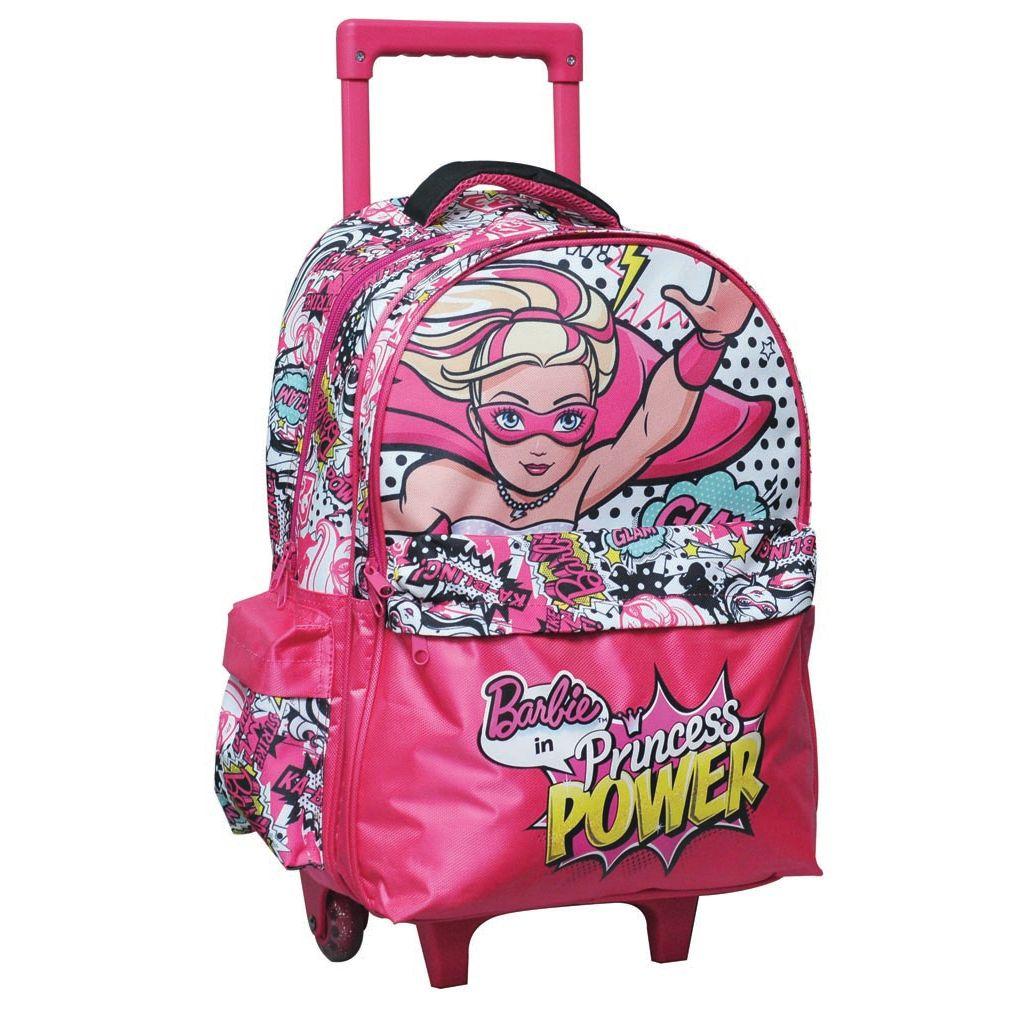 4ce631179a Τσάντα Τρόλεϊ Δημοτικού GIM Barbie Princess Power 349-50074 ...