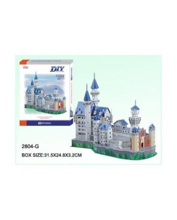 3d puzzle build my world Neuschwanstein Castle tetragono