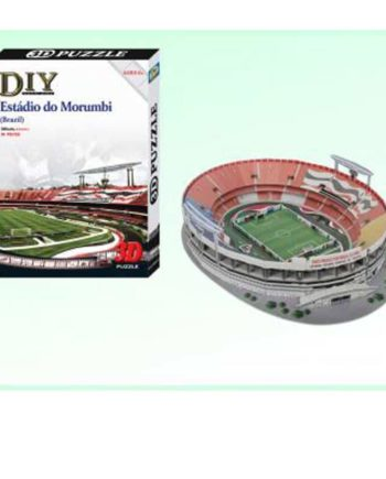 3d puzzle build my world estadio morumbi tetragono