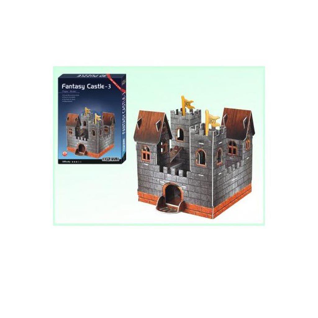 3d puzzle build my world fantasy castle 3 tetragono