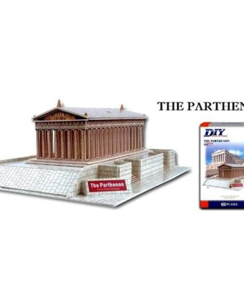 3d puzzle build my world parthenon tetragono