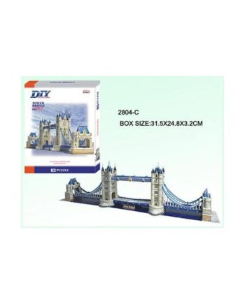 3d puzzle build my world tower bridge tetragono