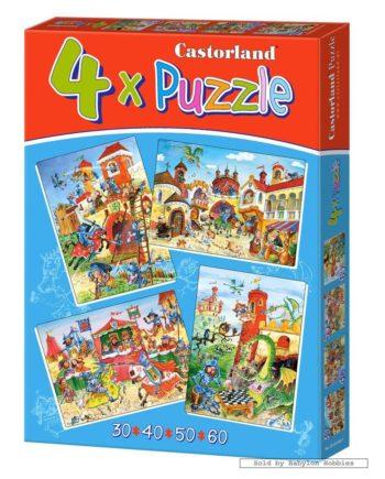 puzzle castorland 4x tetragono