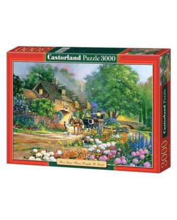 puzzle castorland rose lane house tetragono