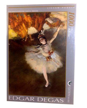puzzle degas ballerina tetragono