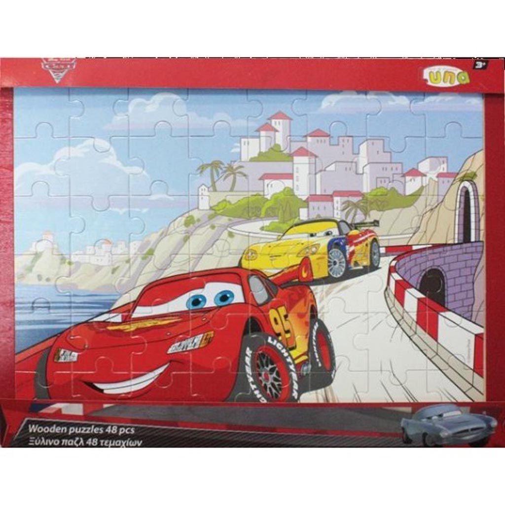 puzzle disney cars 48 tetragono