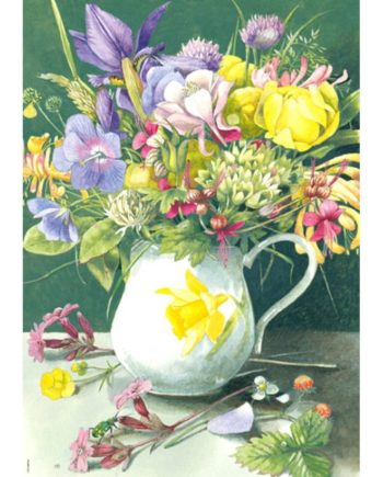 puzzle heye bouquet tetragono