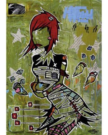 puzzle heye friends redhead tetragono