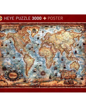 puzzle heye the world tetragono