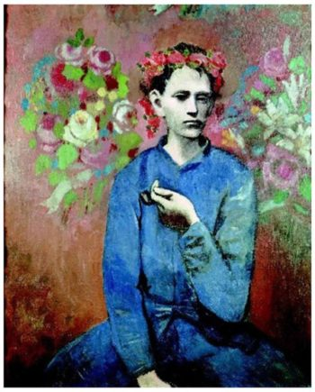 puzzle picasso boy with the pipe tetragono