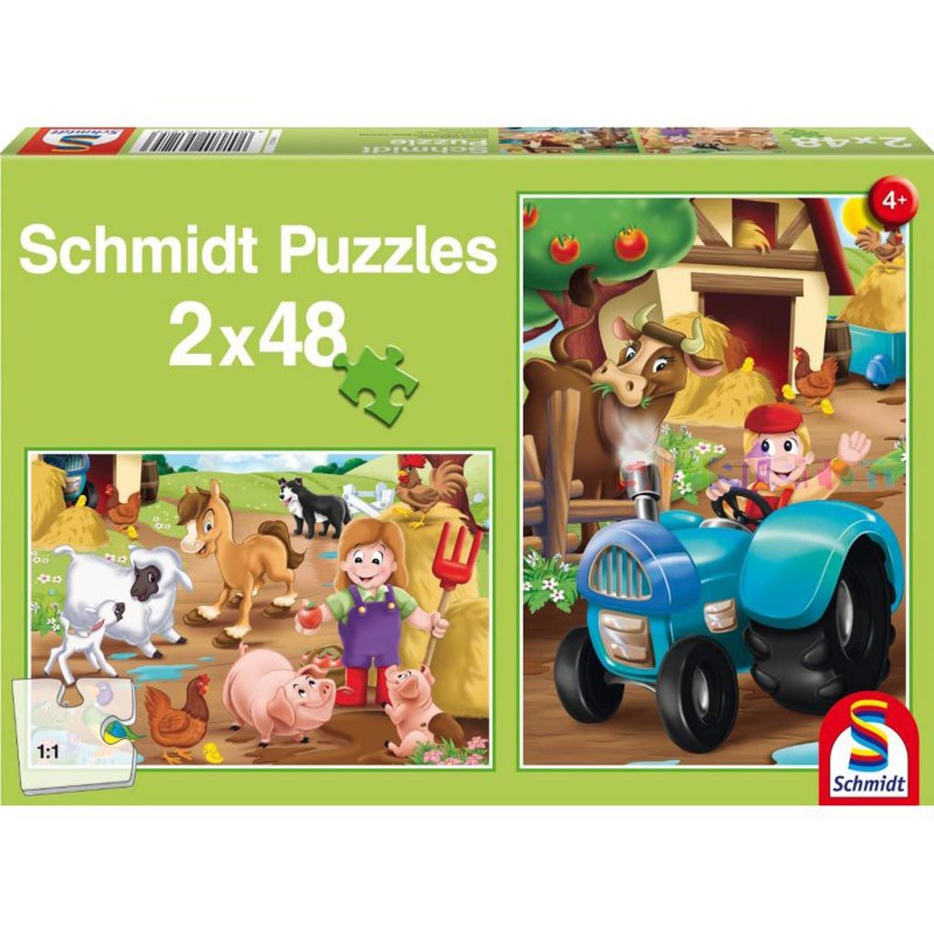 puzzle schmidt 2x48 tetragono