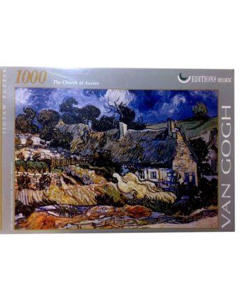 puzzle van gogh church tetragono
