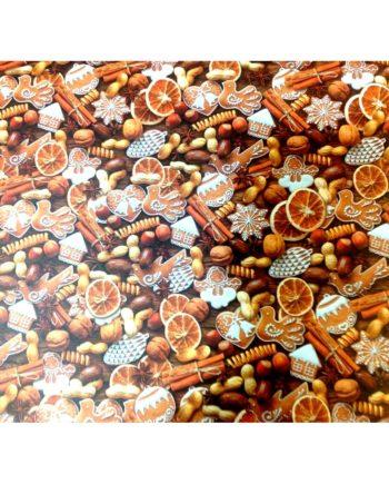 xartoni 50x70cm portokali kanella monis tetragono