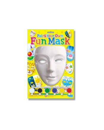 paint your own fun mask 4m0122 tetragono