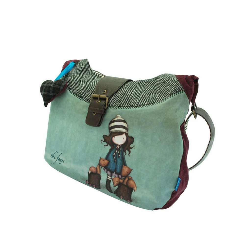 13bfa30b05 Τσάντα Υφασμάτινη GORJUSS The Foxe - Βιβλιοπωλείο Τετράγωνο