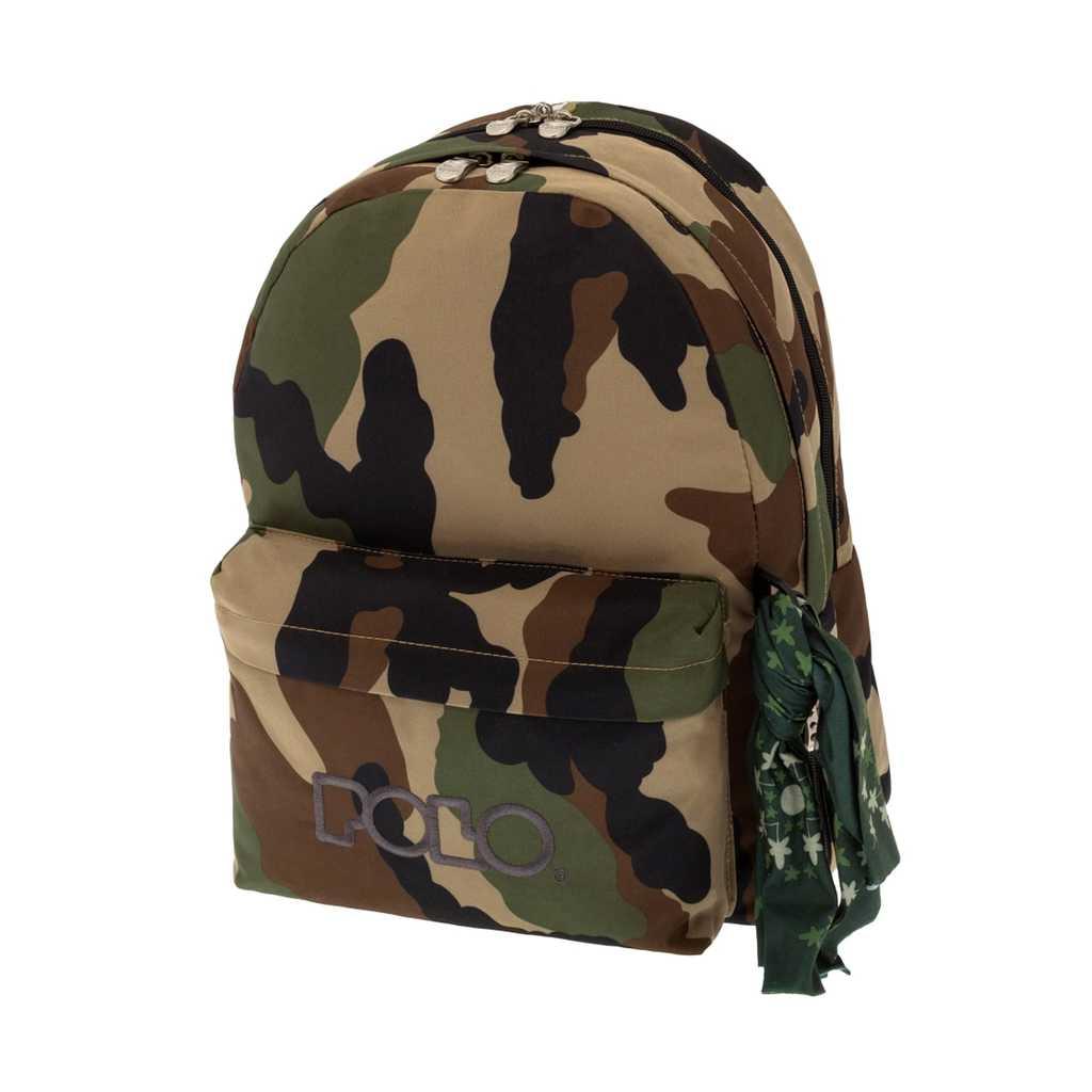 tsanta plaths polo double scarf military 9 01 235 42 tetragono
