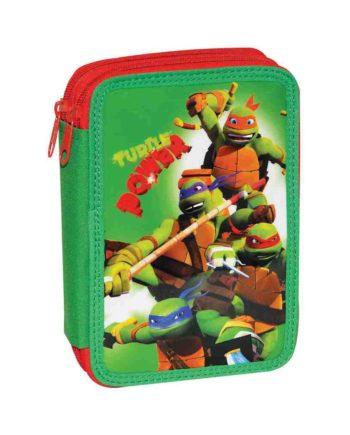 14a4df0aa2 Κασετίνα Διπλή Ninja Power Turtle GIM 334-08100