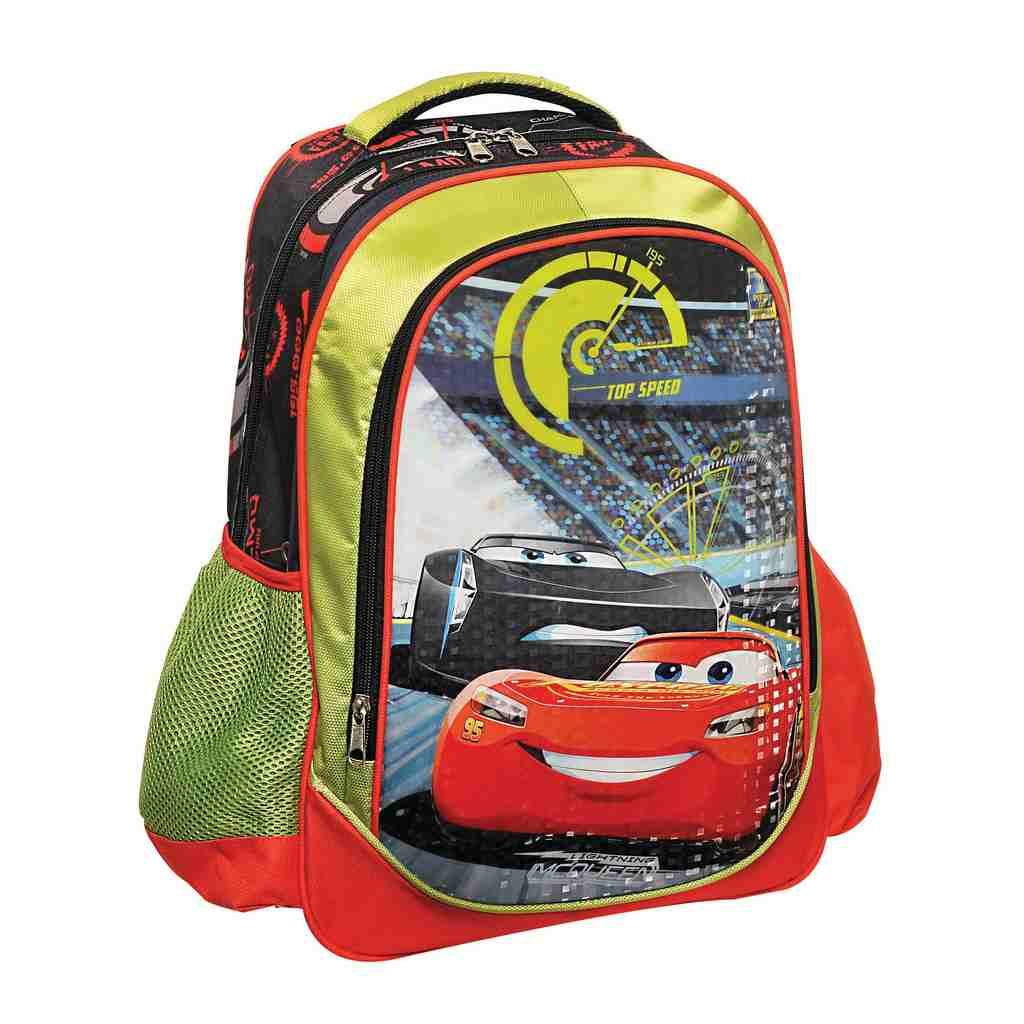 d9aee1d6c6c Τσάντα Δημοτικού Cars- Βιβλιοπωλείο Τετράγωνο
