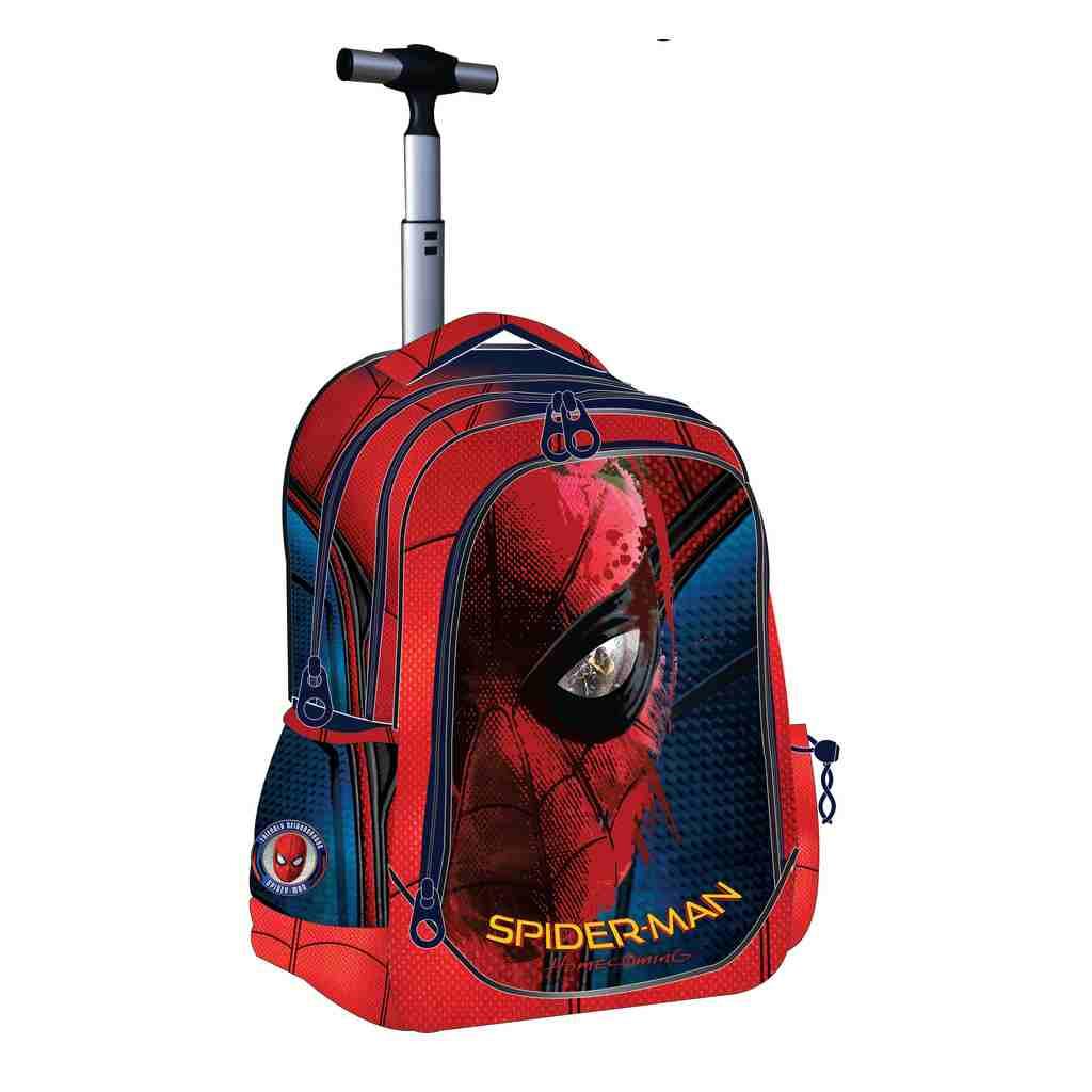 3d425f063ae Τσάντα Τρόλεϊ Spiderman- Βιβλιοπωλείο Τετράγωνο