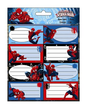 gim etiketes scholikes spiderman ultimate 777 51046 tetragono 1