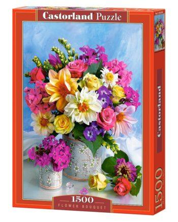 flower bouquet castorland tetragono