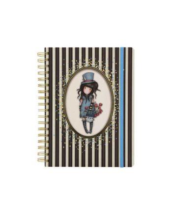 notebook santoro gorjuss 767gj01 tetragono 1