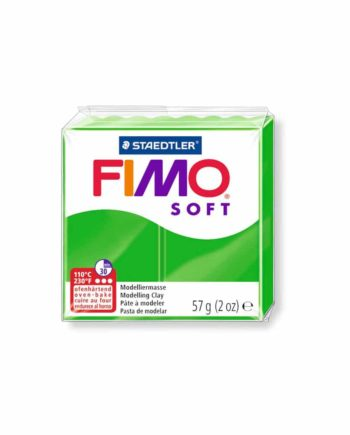 phlos fimo soft tropical green 053 tetragono