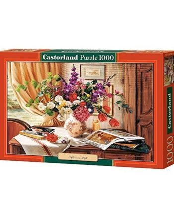 puzzle aftenoon light castorland tetragono