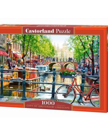 puzzle amsterdam landscape castorland tetragono