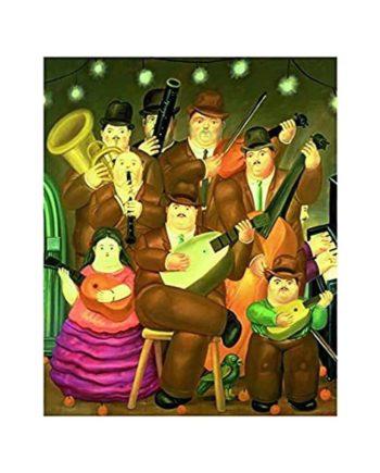 puzzle botero musicians ricordi tetragono