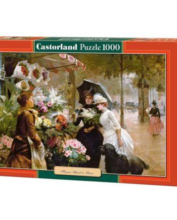 puzzle flower stand in paris castorland tetragono