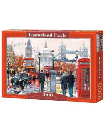 puzzle london collage castorland tetragono
