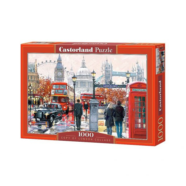 puzzle london collage castorland tetragono