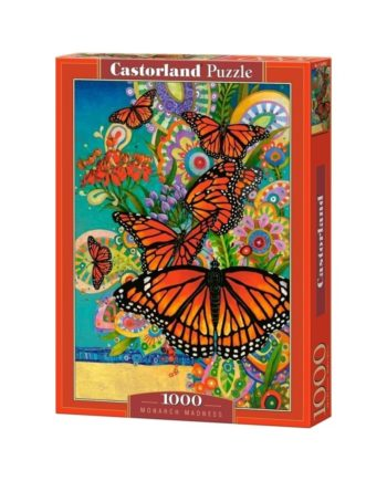 puzzle monarch madness castorland tetragono
