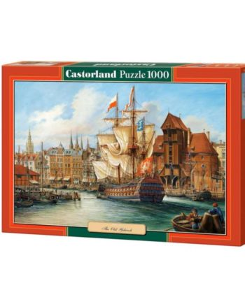 puzzle the old gdansk castorland tetragono