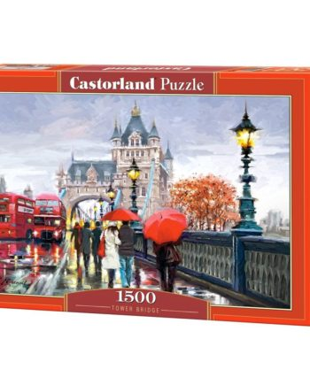 puzzle tower bridge castorland tetragono