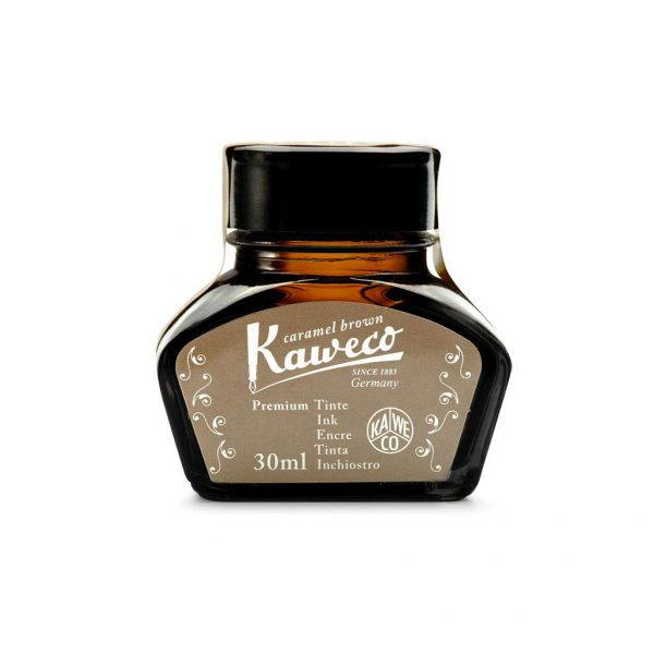 ink-bottle-kaweco-30ml-caramel-brown-10000679-tetragono
