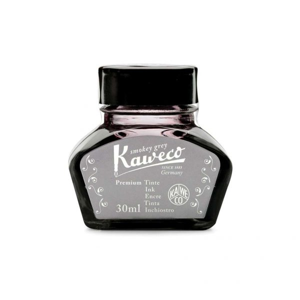 ink-bottle-kaweco-30ml-smoky-grey-10001000-tetragono