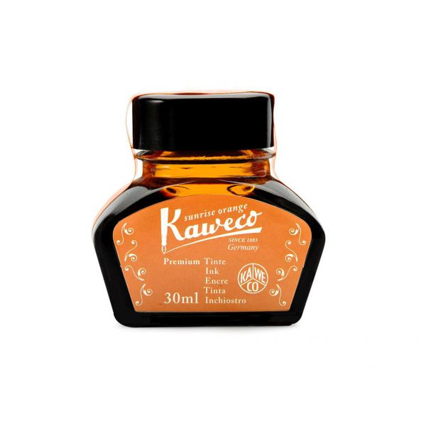 ink-bottle-kaweco-30ml-sunrise-orange-10000999-tetragono