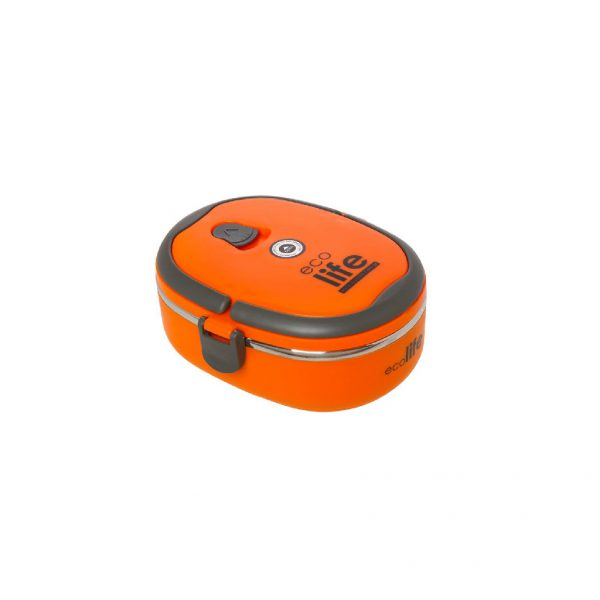lunch box ecolife oval portokali tetragono 1
