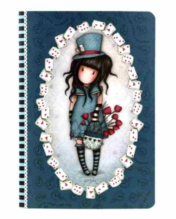 notebook gorjuss 314GJ32 the hatter tetragono 1