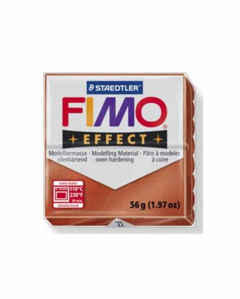 phlos fimo effect metalic copper 027 tetragono