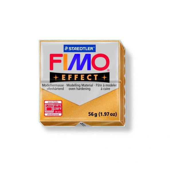 phlos fimo effect metalic gold 011 tetragono